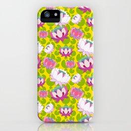 Groovy Lotus iPhone Case