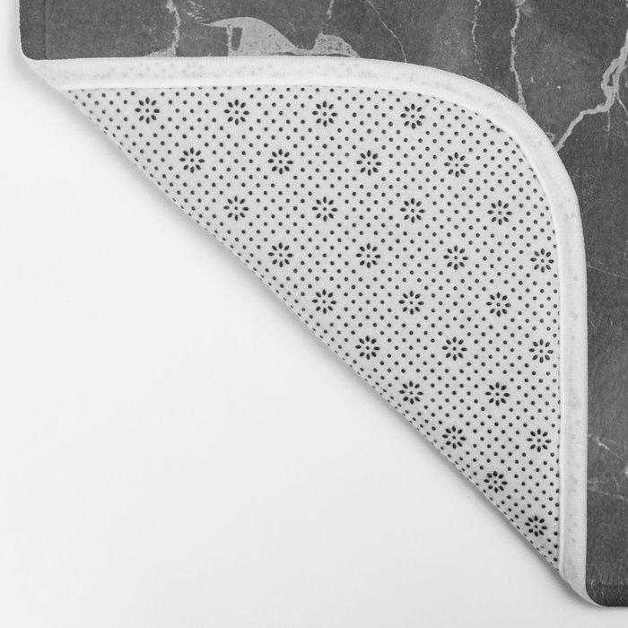 Grey Shadows Bath Mat