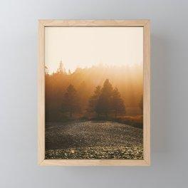 Nature's Glow Framed Mini Art Print