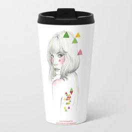 Color geometry Travel Mug