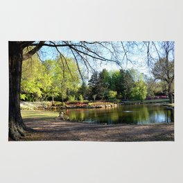 Muscogee (Creek) Nation - HonorHeights Park Azalea Festival, Duck Pond Rug