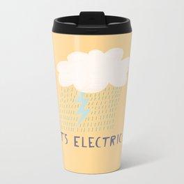 It's Electric Bolt Metal Travel Mug