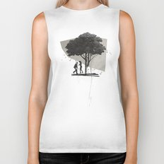 (Down By The) Family Tree | Collage Biker Tank