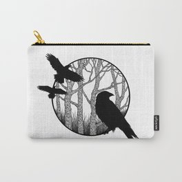 Black Birds II Carry-All Pouch