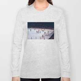 Vintage Ice Hockey Match Long Sleeve T-shirt