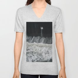 Mother Earth and her Child Unisex V-Neck