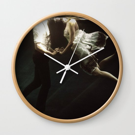abyss of the disheartened VII Wall Clock