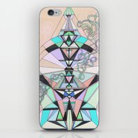 aztec iPhone & iPod Skins featuring Aztec by QUEQZZ