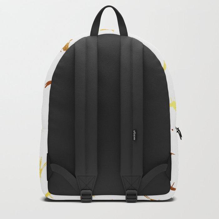 Golden Birds Backpack