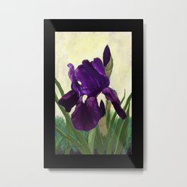 Purple Iris DP150530 Metal Print