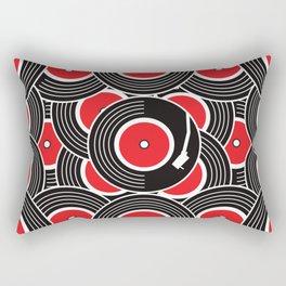 Groovy Record Rectangular Pillow