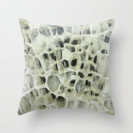 Broken Ship Glass Throw Pillow