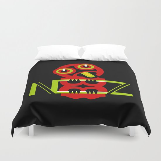 Hei Tiki New Zealand Duvet Cover
