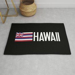 Hawaii: Hawaiin Flag & Hawaii Rug