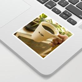Afternoon Coffee Sticker