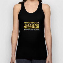 More Affectionate Unisex Tank Top