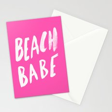 Beach Babe x Flamingo Pink Stationery Cards