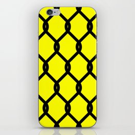 Chain-Link Fence (from Design Machine archives) iPhone Skin