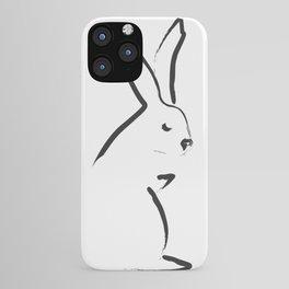 Zen Snow Bunny iPhone Case