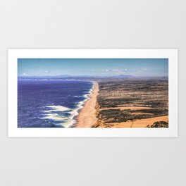 Point Reyes National Reserve, CA Art Print