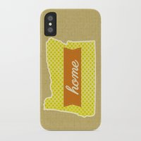 oregon iPhone & iPod Cases featuring Oregon by Embellished Key