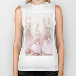 Bunnies Pretty in Pink Biker Tank