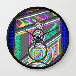 Window of fantasy  1 Wall Clock