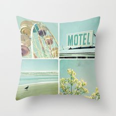 Summer Memories 1 Throw Pillow
