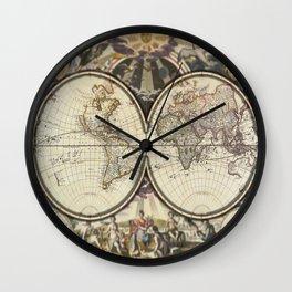Popup World Wall Clock
