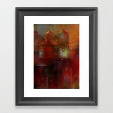 Tank town Framed Art Print