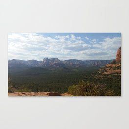 Rough country Canvas Print
