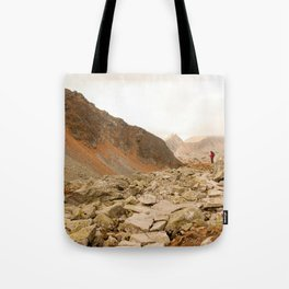 Mountains speak for themselves Tote Bag