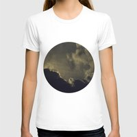 kansas T-shirts featuring Over Kansas by josemanuelerre
