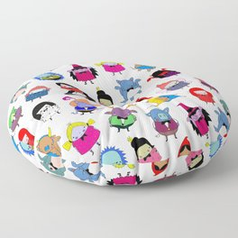 fairy tale peeps Floor Pillow