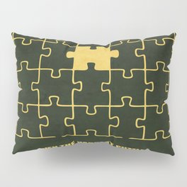 Lab No. 4 -Even The Hardest Puzzles Have A Solution Corporate Start-Up Quotes Pillow Sham