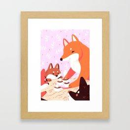 Hot Cocoa Framed Art Print