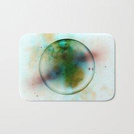 Abstract | Alien Planet | Universe | Fine Office Art | Abstract Gas Bath Mat
