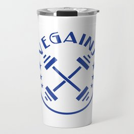 """""""Vegains"""" tee design. Makes a perfect gift to your awesome friends and family! Grab yours too!  Travel Mug"""
