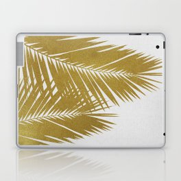 Palm Leaf Gold II Laptop & iPad Skin