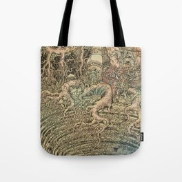 The Step Well Tote Bag