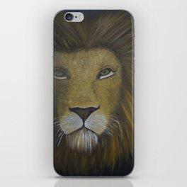 Portrait of a Lion iPhone Skin