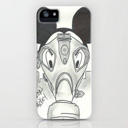 """Hazmat Mickey"" by: Kerosene Bill iPhone Case"