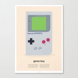 The Original - Game Boy print Canvas Print