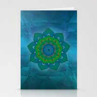 lotus Stationery Cards featuring Lotus by Angelo Cerantola