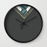 slytherin Wall Clocks featuring Slytherin Sweater by AnnouncingAmy