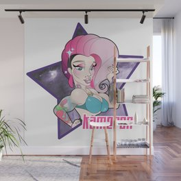 Kameron Michaels, Muscle Queen Wall Mural