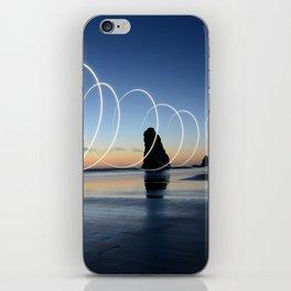 Ocean light rays iPhone Skin