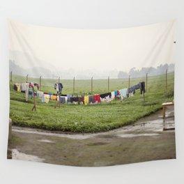 on a line::rwanda Wall Tapestry