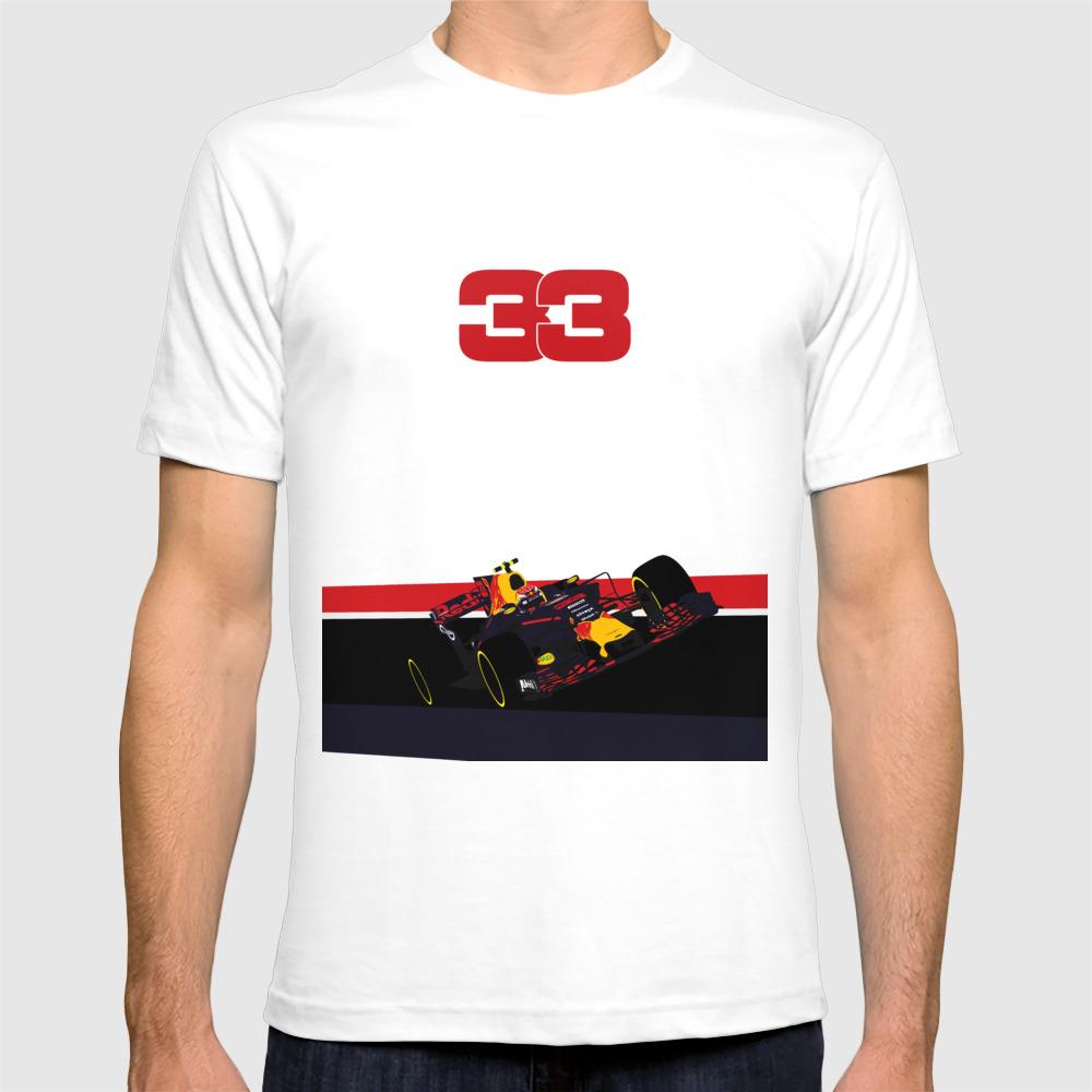 Max Verstappen, Race Winner Malaysia 2017 T-shirt by Exevium TSR7936546