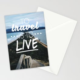 Wanderlust Quote Stationery Cards